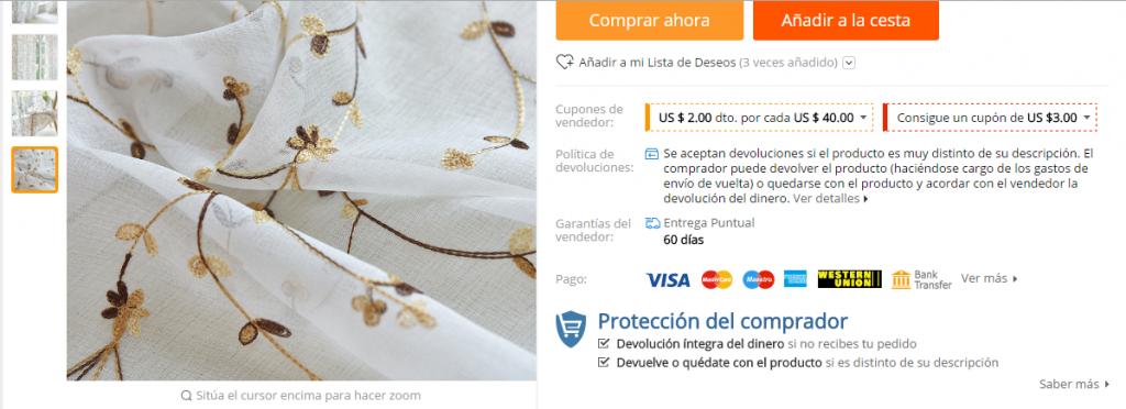 proteccion comprador aliexpress